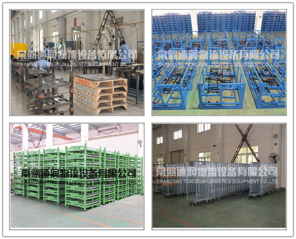 Warehouse Storage Power Coated Steel Tyre Pallet Stacking Rack For Sale