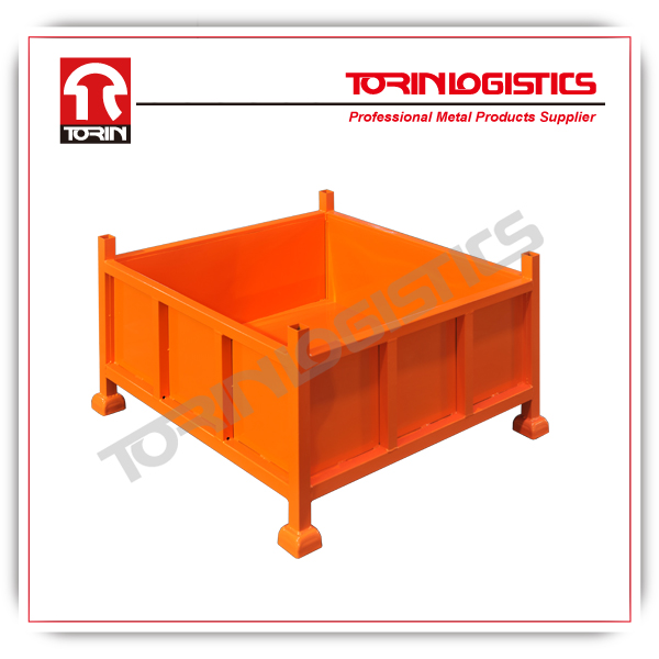folding bulk steel container (880L*880W mm/OEM)