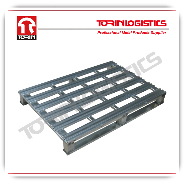 Heavy-duty stackable steel pallet racking (L1200xW1000mm)