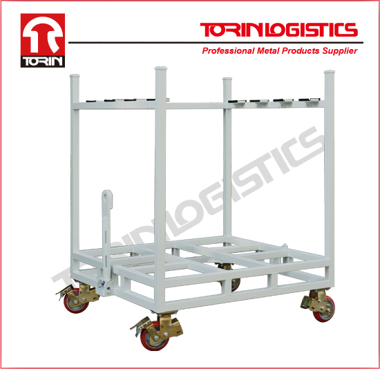 metal pallet auto parts rack for warehouse